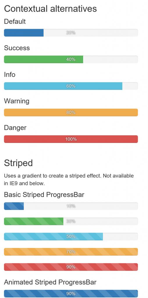 WebProgressBar